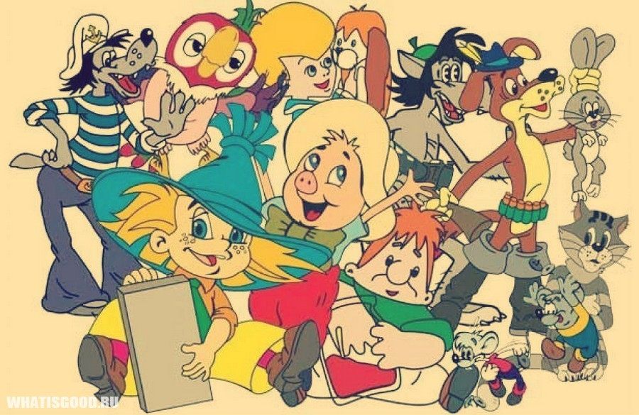 Список мультфильмов для разного возраста